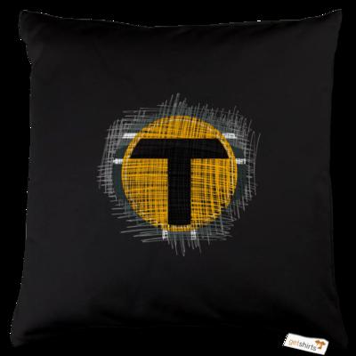 Motiv: Kissen Baumwolle - Tomtrax Logo