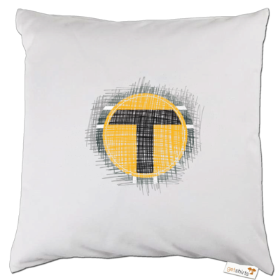 Motiv: Kissen - Tomtrax Logo