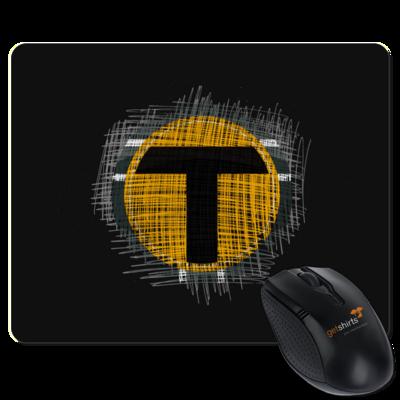 Motiv: Mousepad Textil - Tomtrax Logo