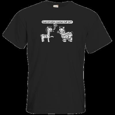 Motiv: T-Shirt Premium FAIR WEAR - Zebra