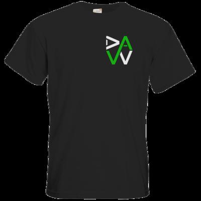 Motiv: T-Shirt Premium FAIR WEAR - DaW-Logo Grün