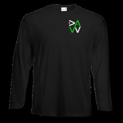 Motiv: #E190 Longsleeve FAIR WEAR - DaW-Logo Grün