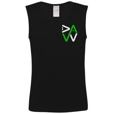 Motiv: Athletic Vest FAIR WEAR - DaW-Logo Grün