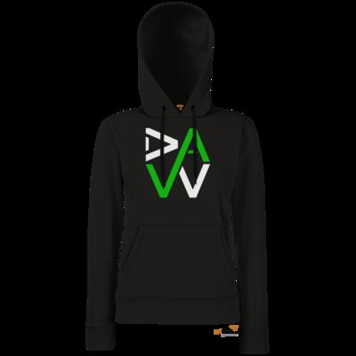 Motiv: Hoodie Damen Classic - DaW-Logo Grün