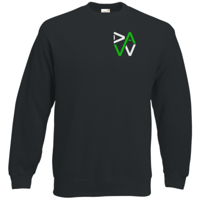 Motiv: Sweatshirt Classic - DaW-Logo Grün