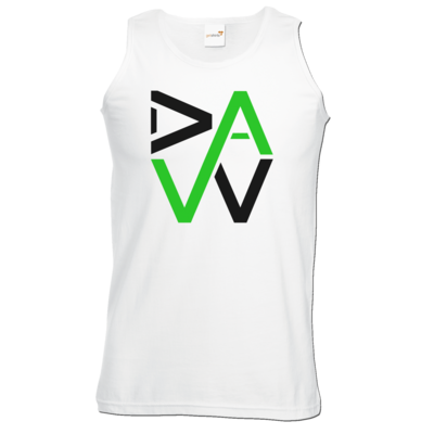Motiv: Athletic Vest - DaW-Logo Grün