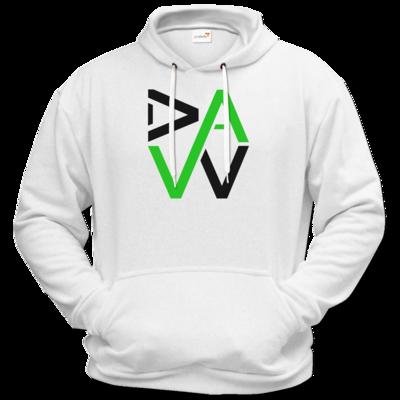 Motiv: Hoodie Premium FAIR WEAR - DaW-Logo Grün