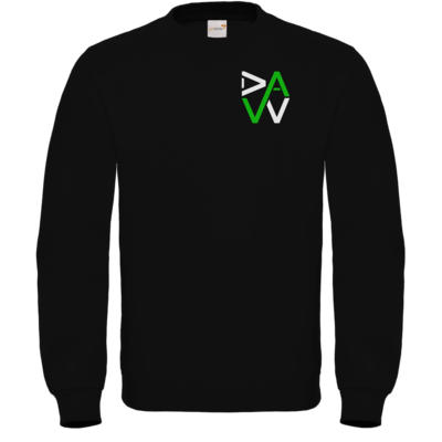 Motiv: Sweatshirt FAIR WEAR - DaW-Logo Grün