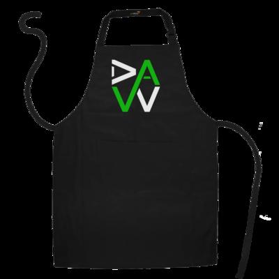 Motiv: Schürze - DaW-Logo Grün