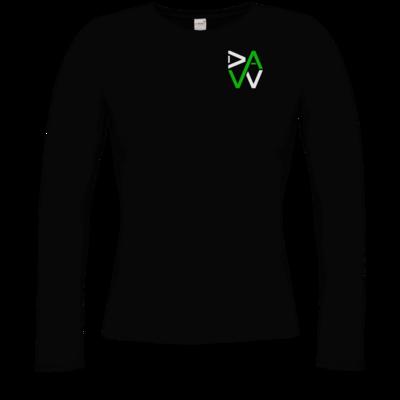 Motiv: Longsleeve Damen Organic - DaW-Logo Grün