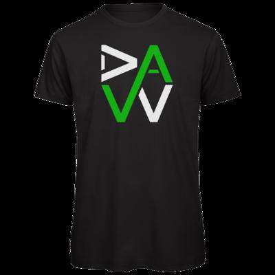 Motiv: Organic T-Shirt - DaW-Logo Grün