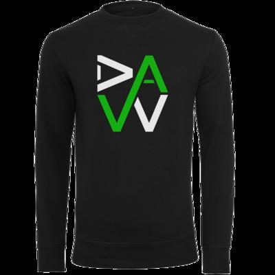 Motiv: Light Crew Sweatshirt - DaW-Logo Grün