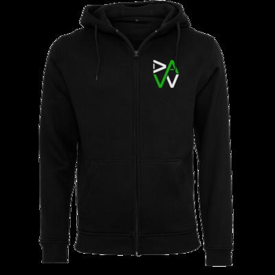 Motiv: Heavy Zip-Hoodie - DaW-Logo Grün