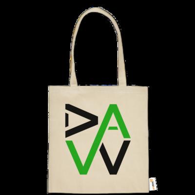 Motiv: Baumwolltasche - DaW-Logo Grün