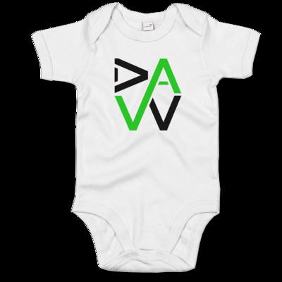 Motiv: Baby Body Organic - DaW-Logo Grün