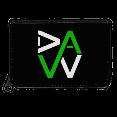 Motiv: Geldboerse - DaW-Logo Grün