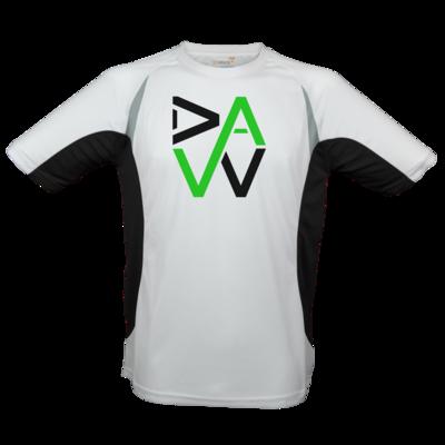 Motiv: Laufshirt Running T - DaW-Logo Grün