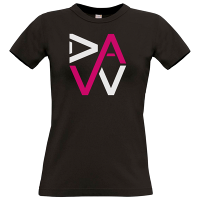 Motiv: T-Shirt Damen Premium FAIR WEAR - DaW-Logo Pink