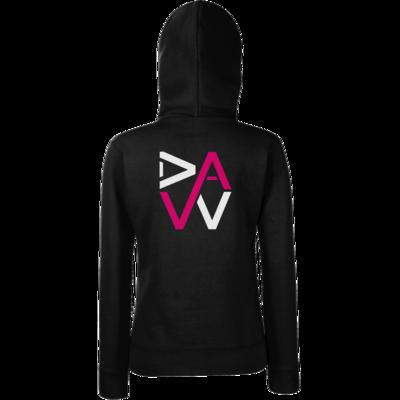 Motiv: Hoodie Damen Classic - DaW-Logo Pink
