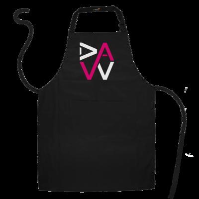 Motiv: Schürze - DaW-Logo Pink