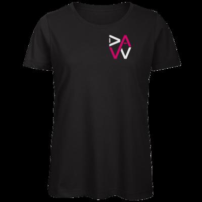 Motiv: Organic Lady T-Shirt - DaW-Logo Pink