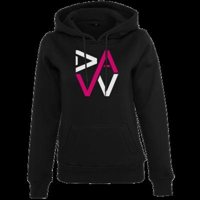 Motiv: Womens Heavy Hoody - DaW-Logo Pink
