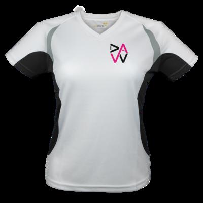 Motiv: Laufshirt Lady Running T - DaW-Logo Pink