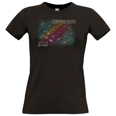 Motiv: T-Shirt Damen Premium FAIR WEAR - Tomtrax Music Pioneer