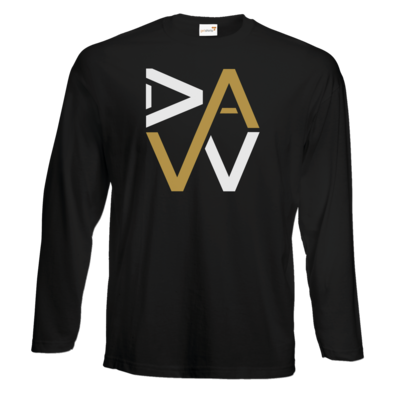 Motiv: #E190 Longsleeve FAIR WEAR - DaW-Logo Gold