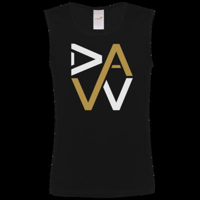 Motiv: Athletic Vest FAIR WEAR - DaW-Logo Gold