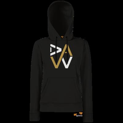 Motiv: Hoodie Damen Classic - DaW-Logo Gold