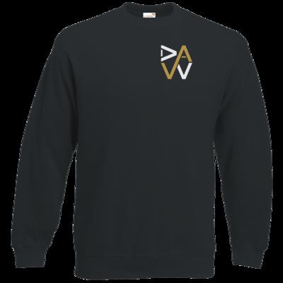 Motiv: Sweatshirt Classic - DaW-Logo Gold