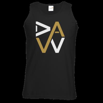 Motiv: Athletic Vest - DaW-Logo Gold