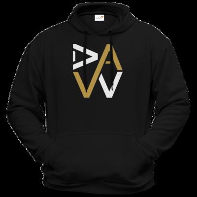 Motiv: Hoodie Premium FAIR WEAR - DaW-Logo Gold