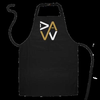 Motiv: Schürze - DaW-Logo Gold