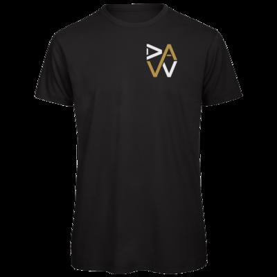 Motiv: Organic T-Shirt - DaW-Logo Gold