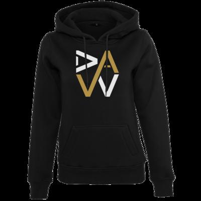 Motiv: Womens Heavy Hoody - DaW-Logo Gold