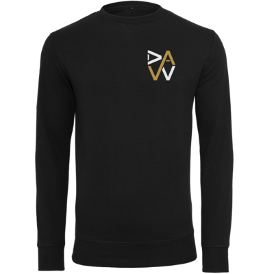 Motiv: Light Crew Sweatshirt - DaW-Logo Gold