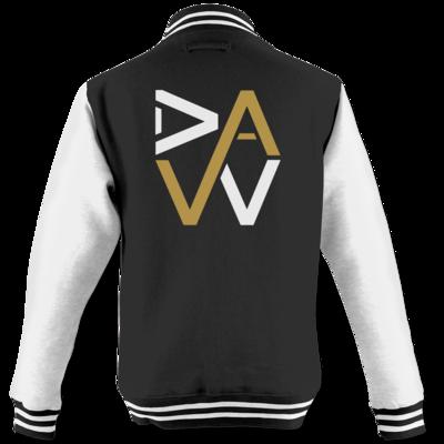 Motiv: College Jacke - DaW-Logo Gold