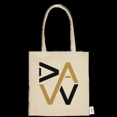 Motiv: Baumwolltasche - DaW-Logo Gold