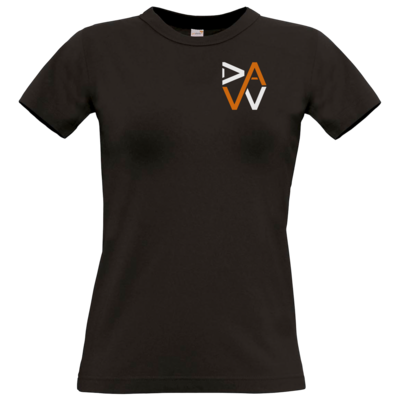 Motiv: T-Shirt Damen Premium FAIR WEAR - DaW-Logo Orange