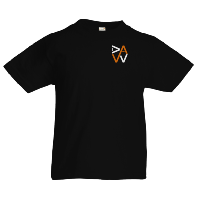 Motiv: Kids T-Shirt Premium FAIR WEAR - DaW-Logo Orange