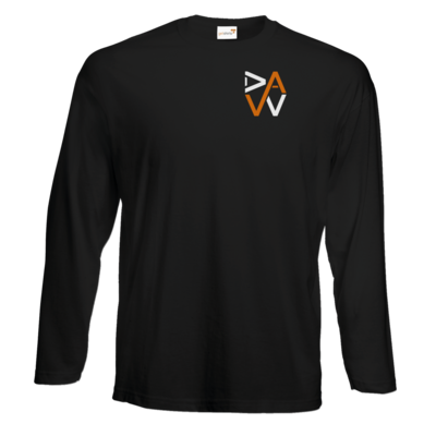 Motiv: #E190 Longsleeve FAIR WEAR - DaW-Logo Orange