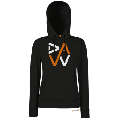 Motiv: Hoodie Damen Classic - DaW-Logo Orange