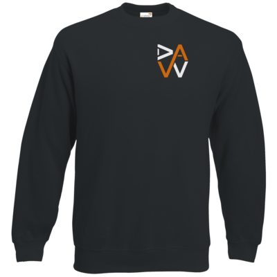 Motiv: Sweatshirt Classic - DaW-Logo Orange