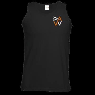 Motiv: Athletic Vest - DaW-Logo Orange