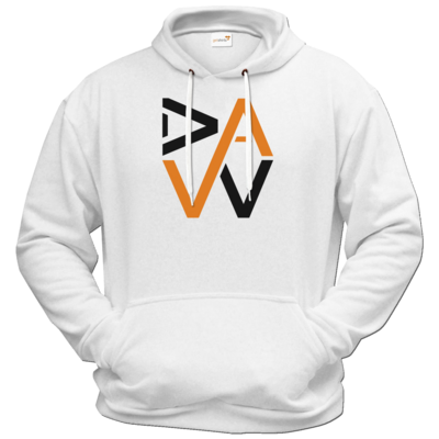 Motiv: Hoodie Premium FAIR WEAR - DaW-Logo Orange