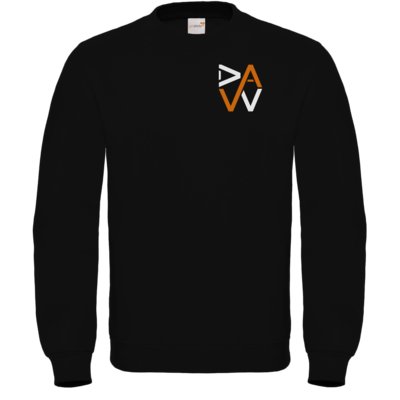 Motiv: Sweatshirt FAIR WEAR - DaW-Logo Orange