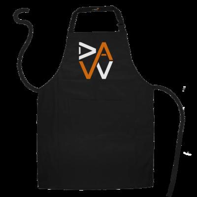 Motiv: Schürze - DaW-Logo Orange