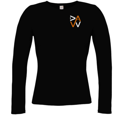 Motiv: Longsleeve Damen Organic - DaW-Logo Orange